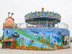 Amusement Park Carousel Ocean Theme