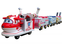 Kids Electric Train Modern Design