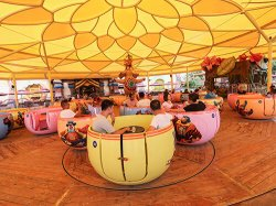 72 Seats Spinning Cup Ride
