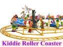 Space Theme Kiddie Roller Coaster