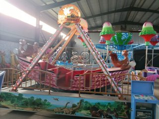 Many Different Amusement Park Rides for Italy Customer